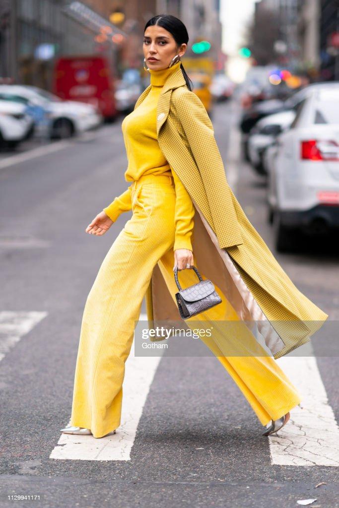 NY: Celebrity Sightings In New York City - February 15, 2019