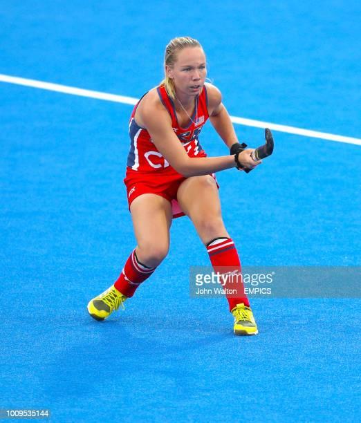 Nicole Woods USA India v USA Women's Hockey World Cup 2018 Pool B Lee Valley Hockey Tennis Centre