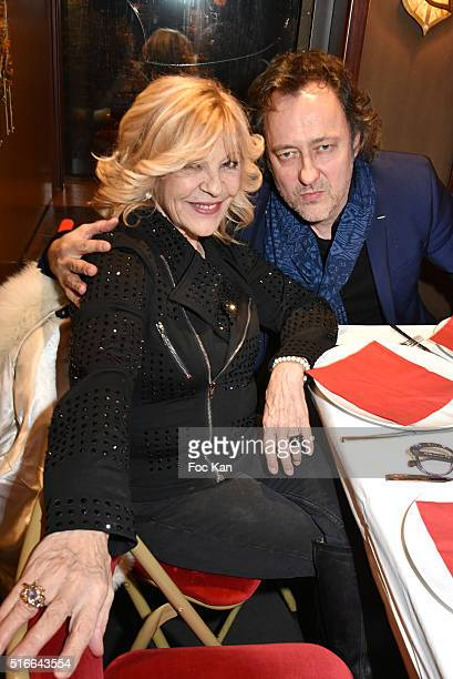 Nicoletta and Jean Christophe Molinier attend Springtime Celebration Party Hosted by Les Amis d'Ismail in Salons of the Maxime's Boat on March 19...
