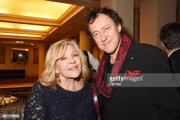 Nicoletta and Jean Christophe Molinier attend the 'Gala de L'Espoir' Auction Dinner Against Cancer at the Theatre des Champs Elysees on October 17...