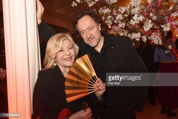 Nicoletta and Jean Christophe Molinier attend the Kenzo Takada Birthday Party as part of the Paris Fashion Week Womenswear Fall/Winter 2019/2020 on...