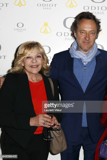 Nicoletta and JeanChristophe Molinier attend Dessiner L'Or et L'Argent Odiot Orfevre Exhibition Launch at Musee Des Arts Decoratifs on March 7 2017...