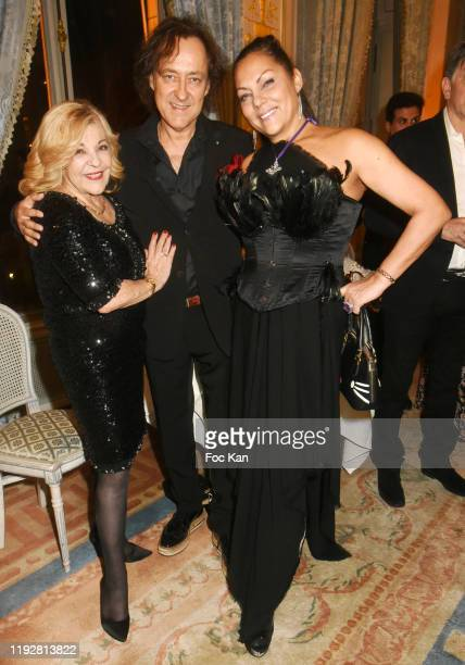 Nicoletta Jean Christophe Molinier and Hermine de Clermont Tonnerre attend the 43rd Best Awards Edition At Cercle Interallie on December 08 2019 in...