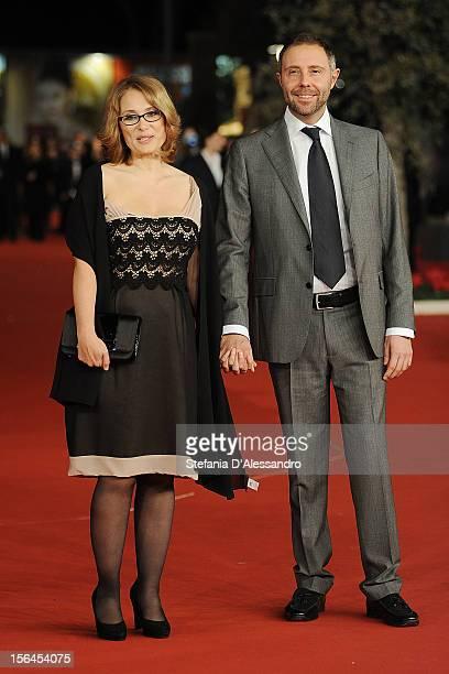 Nicoletta Mantovani and Filippo Vernassa attend 'E La Chiamano Estate' Premiere at Auditorium Parco Della Musica on November 14 2012 in Rome Italy