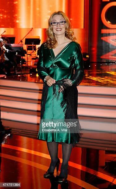 Nicoletta Mantovani attends PREMIO TV 2015 Awards at RAI Dear Studios on May 25 2015 in Rome Italy