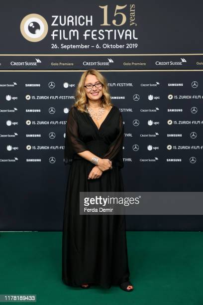 "Nicoletta Mantovani attends the ""Pavarotti"" photo call during the 15th Zurich Film Festival at Kino Corso on September 30, 2019 in Zurich,..."