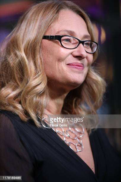 "Nicoletta Mantovani attends the ""Pavarotti"" photo call during the 15th Zurich Film Festival at Kino Corso on September 30, 2019 in Zurich,..."