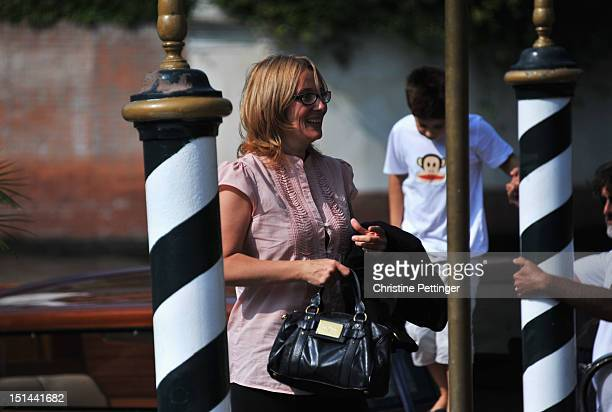 Nicoletta Mantovani is seen during the 69th Venice Film Festival on September 7 2012 in Venice Italy