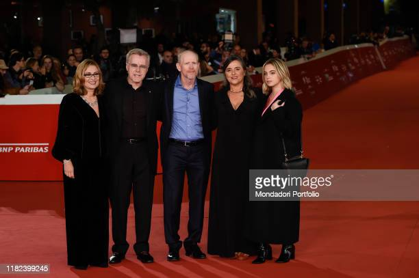 Nicoletta Mantovani, Nigel Sinclair, Ron Howard, Giuliana Pavarotti, Caterina Lo Sasso at Rome Film Fest 2019. Rome , October 18th, 2019