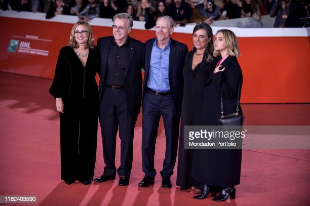 Nicoletta Mantovani, Nigel Sinclair, Ron Howard, Giuliana Pavarotti ,Caterina Lo Sasso at Rome Film Fest 2019. Rome , October 18th, 2019