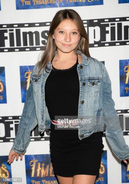 Nicolette Durrazo poses for portrait at The Artists Project Hosts Portraits For The Premiere of Timecrafters on November 17 2020 in Los Angeles...