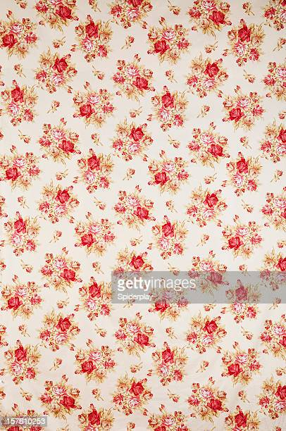 Nicolette Floral Wide Antique Fabric