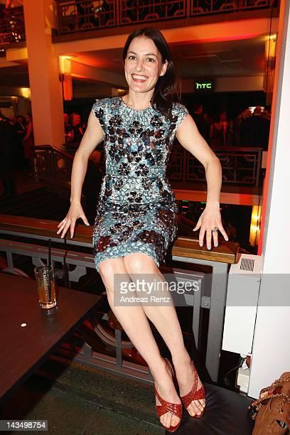 Nicolette Krebitz attends the Lola German Film Award 2012 Party at FriedrichstadtPalast on April 27 2012 in Berlin Germany