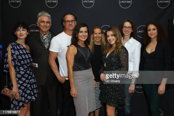 Nicolette Pearse guest Jeffrey Hunt Kate Drummond Tia Maggini Addison Holley Michelle Paradise and Alex Cooper attend the Lifetime Original Movie...