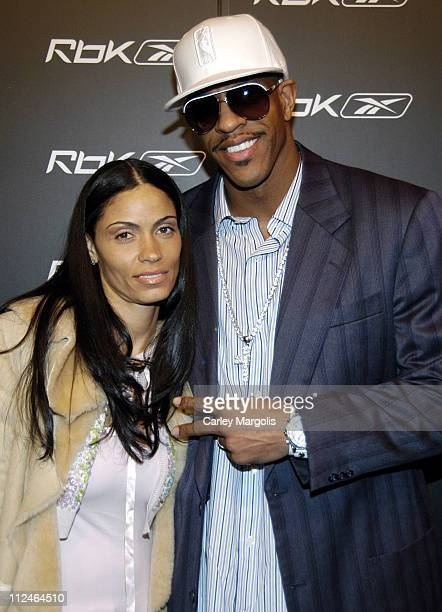 Nicolette Williams and Jerome Williams during 'Reebok Now Playing' Featuring Nelly Daddy Yankee Mike Jones and Lupe Fiasco After Party at Marquee in...