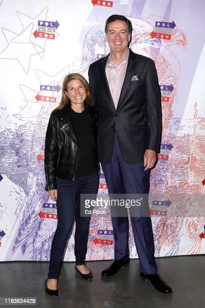 Nicolle Wallace and James Comey attend the 2019 Politicon at Music City Center on October 26 2019 in Nashville Tennessee