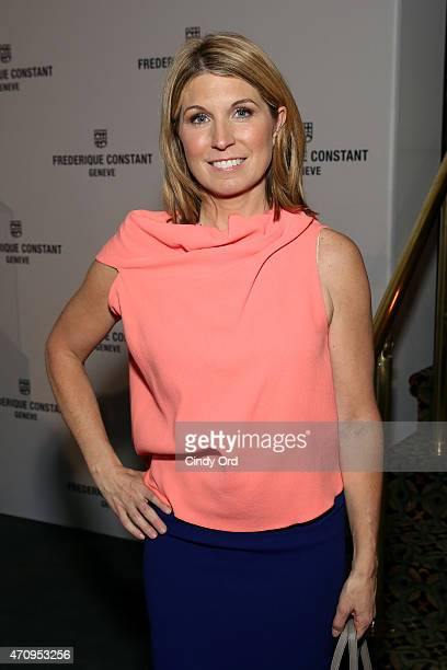 Nicolle Wallace attends Variety's Power Of Women New York Brought To You by Frederique Constant at Cipriani 42nd Street on April 24 2015 in New York...