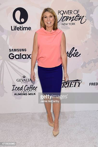 Nicolle Wallace of The View attends Variety's Power of Women New York presented by Lifetime at Cipriani 42nd Street on April 24 2015 in New York City