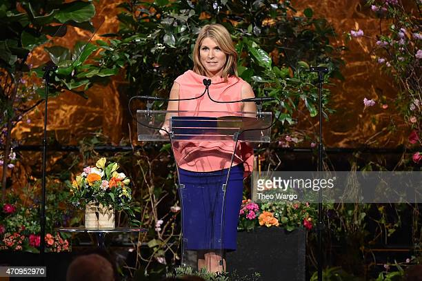 Nicolle Wallace of The View performs onstage at Variety's Power of Women New York presented by Lifetime at Cipriani 42nd Street on April 24 2015 in...