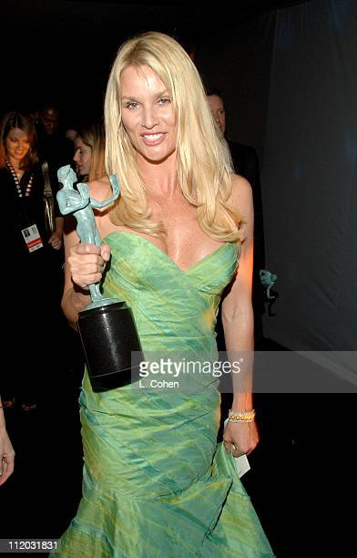 Nicollette Sheridan 10612_lc0174jpg during TNT Broadcasts 12th Annual Screen Actors Guild Awards Backstage and Audience at Shrine Expo Hall in Los...