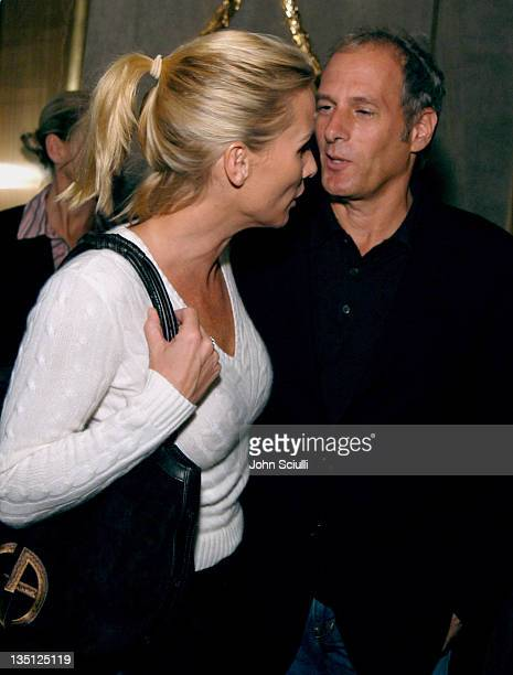 Nicollette Sheridan and Michael Bolton during Harry Winston Celebrates the Opening of Their New Beverly Hills Flagship Store - Inside at Harry...
