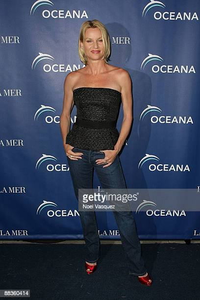 Nicollette Sheridan attends Oceana's celebration of World Oceans Day with La Mer at a private residence on June 8 2009 in Los Angeles California