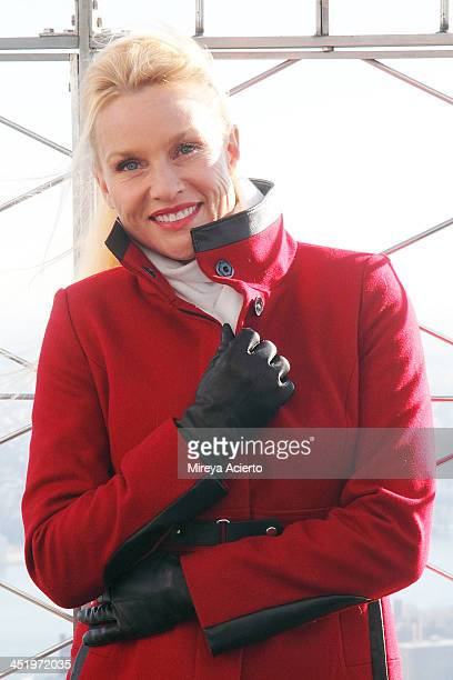 Nicollette Sheridan celebrates the premiere of 'The Christmas Spirit' at The Empire State Building on November 25 2013 in New York City