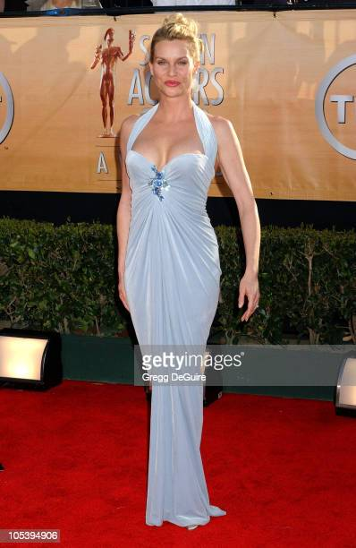 Nicollette Sheridan during 11th Annual Screen Actors Guild Awards Arrivals at Shrine Auditorium in Los Angeles California United States