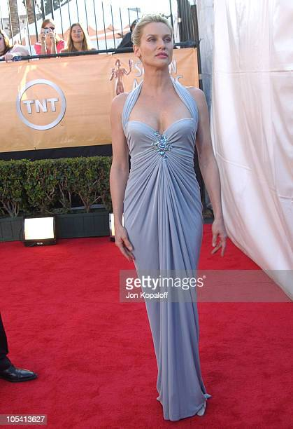 Nicollette Sheridan during 2005 Screen Actors Guild Awards Arrivals at The Shrine in Los Angeles California United States