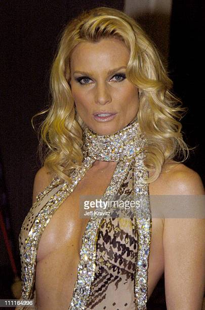 Nicollette Sheridan during 32nd Annual American Music Awards Backstage at Shrine Auditorium in Los Angeles California