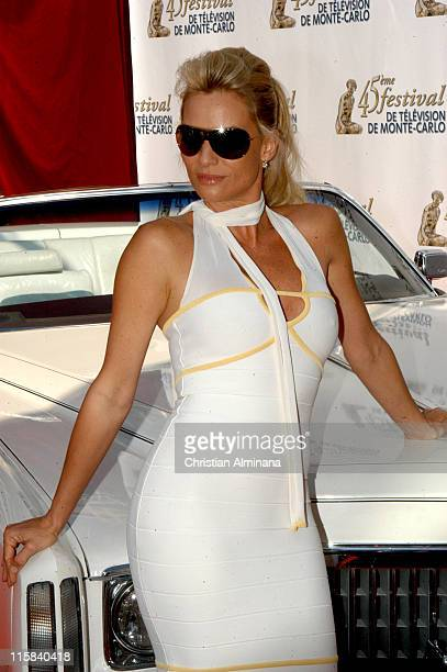 Nicollette Sheridan during 45th Monte Carlo Television Festival 'Desperate Housewives' Photocall at Grimaldi Forum in Monte Carlo Monaco