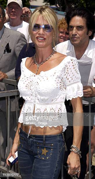 Nicollette Sheridan during Michael Bolton Honored with a Star on the Hollywood Walk of Fame for His Achievements in Music at Hollywood Boulevard in...