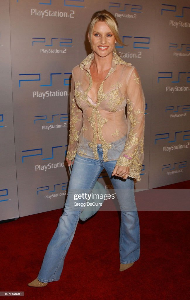 Nicollette Sheridan during Playstation 2 'Playa Del Playstation' Party at Viceroy Hotel in Santa Monica, California, United States.