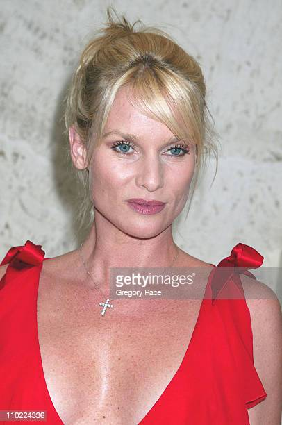Nicollette Sheridan during Valentino Fragrance Launch Party For 'Valentino V' at Four Seasons in New York City New York United States