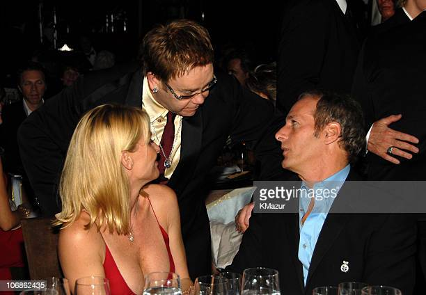 Nicollette Sheridan Sir Elton John and Michael Bolton *EXCLUSIVE*