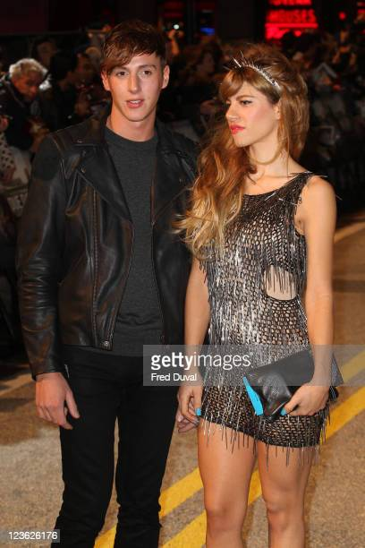 Nicolo arrives at the European premiere of 'Due Date' at Empire Leicester Square on November 3 2010 in London England