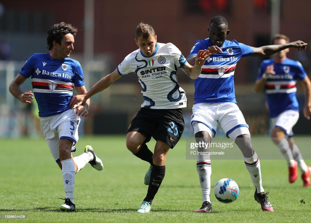 UC Sampdoria v FC Internazionale - Serie A : News Photo