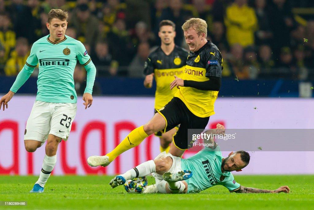 Borussia Dortmund v Inter Milan: Group F - UEFA Champions League : Foto di attualità