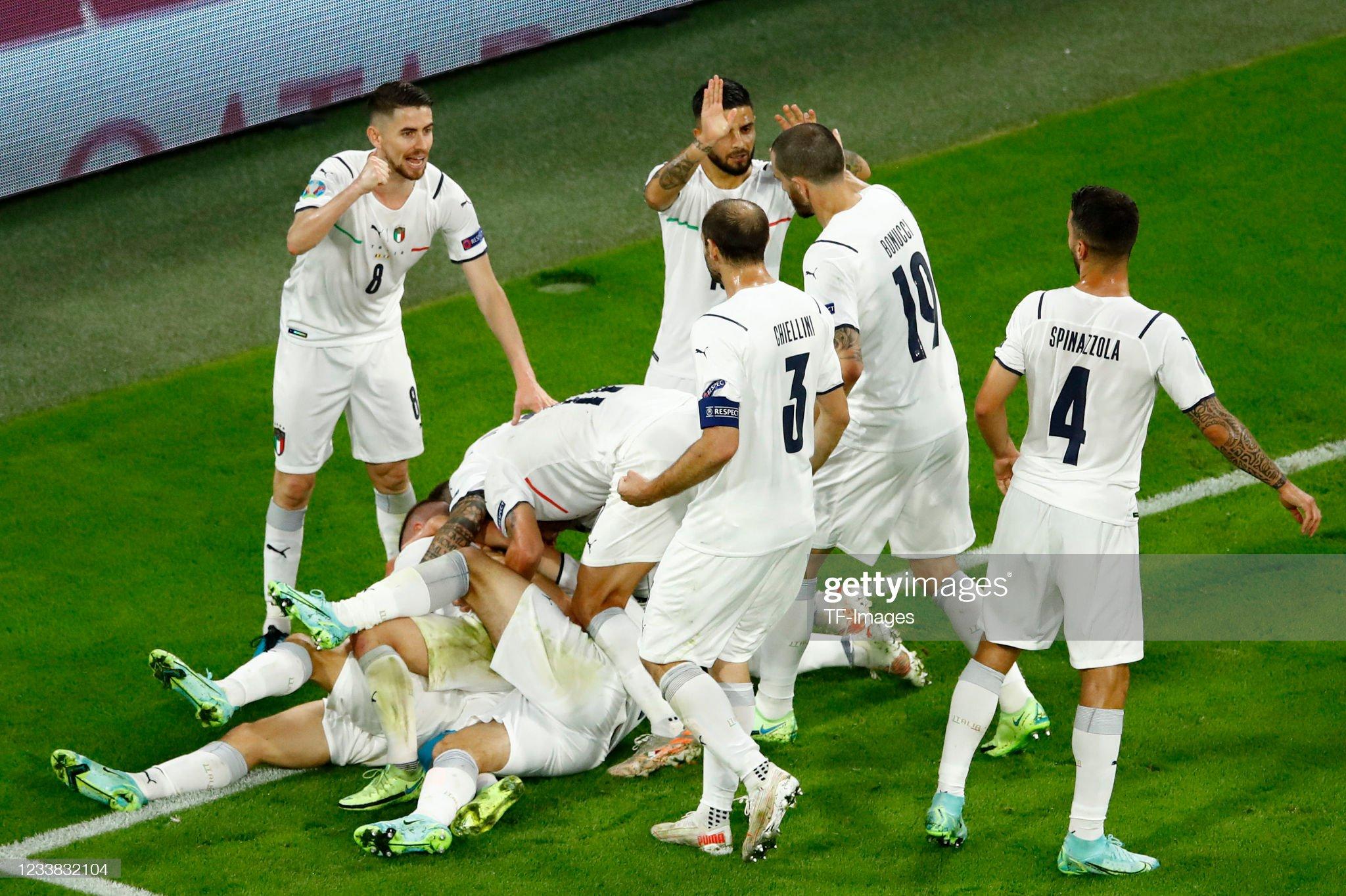 Belgium v Italy - UEFA Euro 2020 - Quarter-final : News Photo