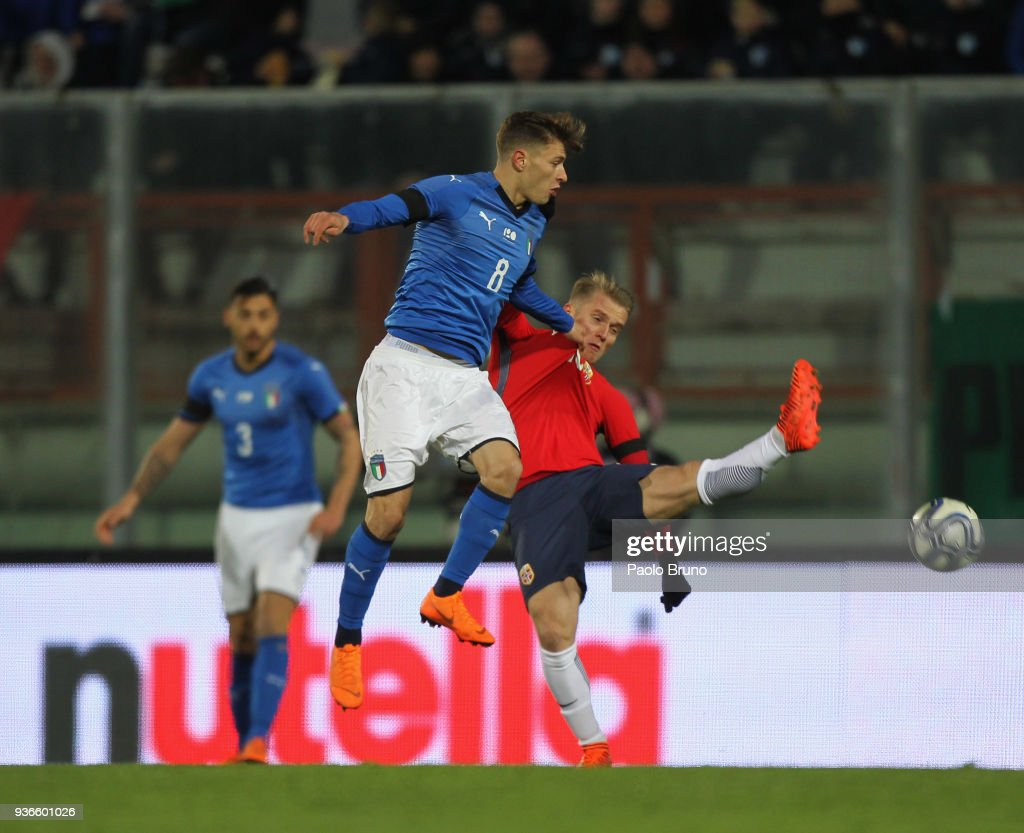 Italy v Norway - U21 International Friendly