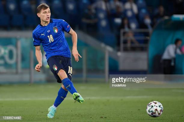 Nicolo Barella of Italy in action during the Uefa Euro 2020 Group A football match between Italy and Switzerland. Italy won 3-0 over Switzerland.