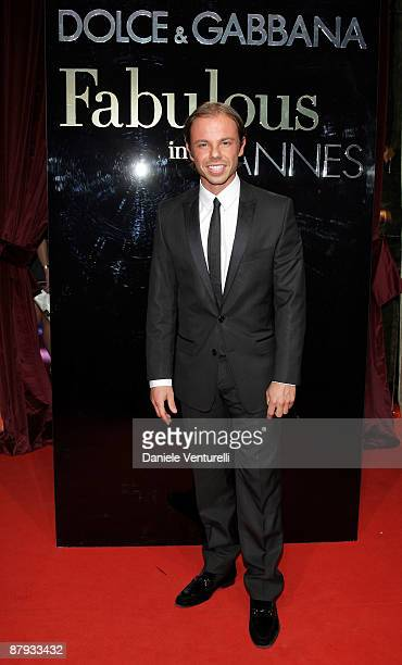 Nicolo Cardi attends the Dolce Gabbana Party at the Le Baoli Port Canto during the 62nd Annual Cannes Film Festival on May 22 2009 in Cannes France