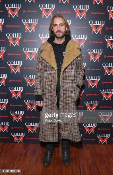 Nicolo Giannico Beretta attends Collini Unminimal Party Milan Fashion Week Autumn / Winter 2019/20 on February 20 2019 in Milan Italy