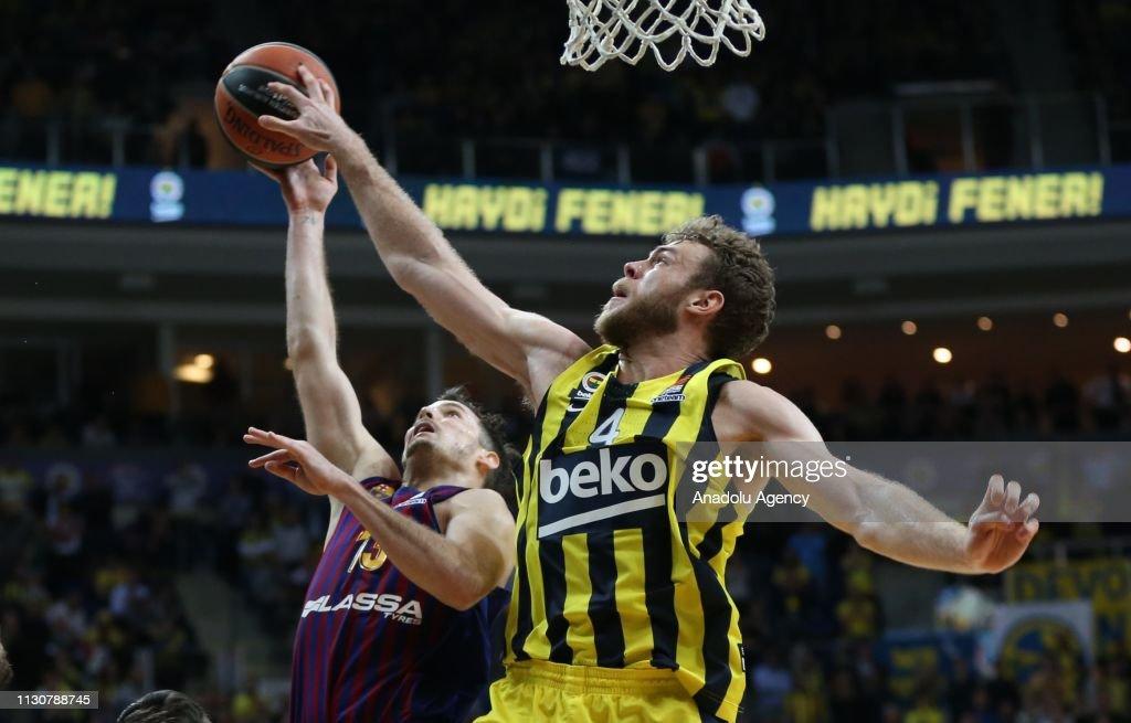 Fenerbahce Beko v Barcelona Lassa: Turkish Airlines Euroleague : Photo d'actualité