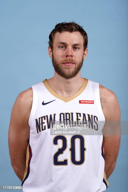 Nicolo Melli of the New Orleans Pelicans poses for a head shot during media day on September 30 2019 at the Ochsner Sports Performance Center in New...