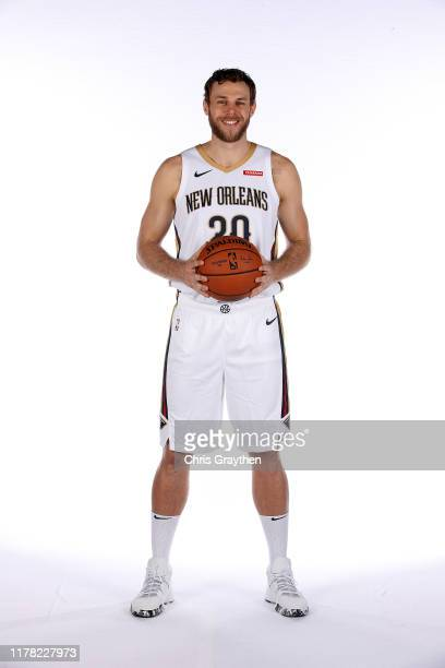 Nicolo Melli of the New Orleans Pelicans poses for a photo during Media Day at the Ochsner Sports Performance Center on September 30 2019 in Metairie...