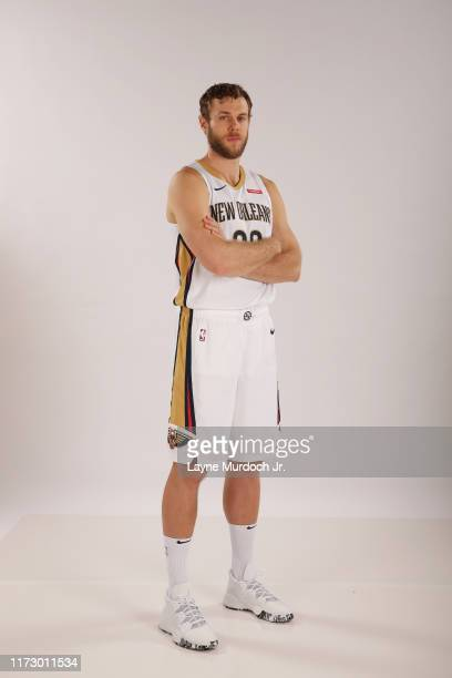 Nicolo Melli poses for a portrait on September 30 2019 at the Ocshner Sports Performance Center in New Orleans Louisiana NOTE TO USER User expressly...