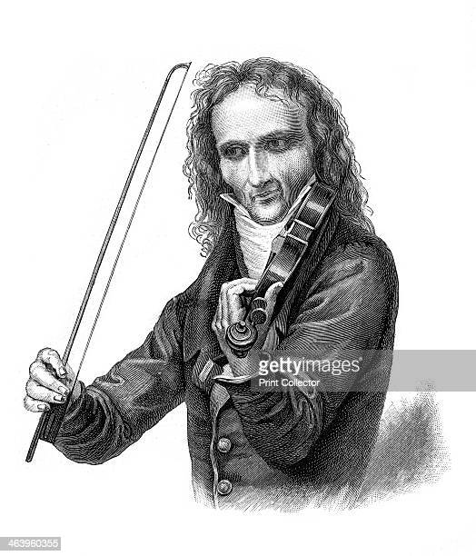 Nicolo Paganini 19th century Italian violinist violist guitarist and composer Paganini is one of the most famous violin virtuosi and is considered by...