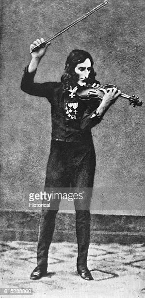 Nicolo Paganini Italian violinist and composer