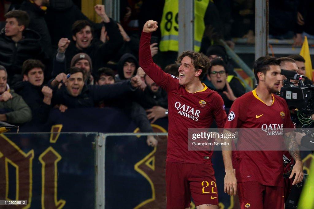 AS Roma v FC Porto - UEFA Champions League Round of 16: First Leg : News Photo